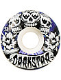 Darkstar Muertes 51mm White Skateboard Wheels