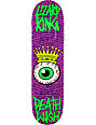 "Deathwish Lizard Crowned Eye 8.12""  Skateboard Deck"