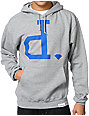 Diamond Supply Co Big Unpolo Heather Grey Pullover Hoodie