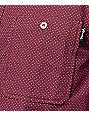 Diamond Supply Co Covington Burgundy Button Up Shirt