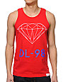 Diamond Supply Co DL-98 Red Tank Top