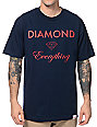 Diamond Supply Co Diamond Everything Navy T-Shirt
