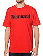 Diamond Supply Co Diamond4Life Red T-Shirt