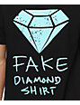 Diamond Supply Co Fake Diamond Black T-Shirt