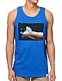 Diamond Supply Co Imprint Blue Tank Top