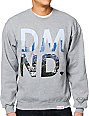 Diamond Supply Co LA Heather Grey Crew Neck Sweatshirt