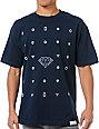 Diamond Supply Co Many Diamonds Navy Blue T-Shirt
