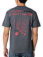 Diamond Supply Co Mind Over Matter Charcoal T-Shirt