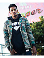 Diamond Supply Co Puffer Camo Jacket