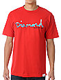Diamond Supply Co Red OG Yacht T-Shirt