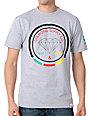 Diamond Supply Co Rise And Shine Grey Rasta T-Shirt