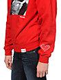 Diamond Supply Co Rollin Diamonds Red Crew Neck Sweatshirt