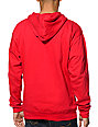 Diamond Supply Co Trillian Red Pullover Hoodie