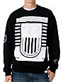 Diamond Supply Co University 2 Black Crew Neck Sweatshirt