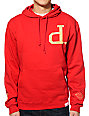 Diamond Supply Co x Ben Baller Un Polo Red Pullover Hoodie