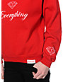 Diamond Supply Co. Diamond Everything Red Crew Neck Sweatshirt