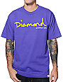 Diamond Supply Co. OG Script Purple T-Shirt