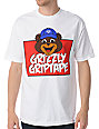 Diamond Supply Grizzly Griptape Mascot White T-Shirt