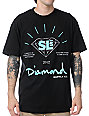 Diamond Supply x Street League Extraordinary Black T-Shirt