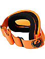 Dragon DX Matte Orange & Amber Snowboard Goggles