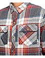 Dravus Murphy Burgundy, Charcoal & Oat Flannel Shirt
