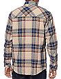 Dravus Yosemite Khaki & Burgundy Flannel Shirt