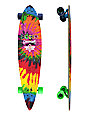 "Dusters Grateful Dead Bears 42""  Pintail Longboard Complete"