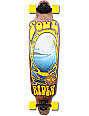 "Dusters Soul Rider Brown & Yellow 38""  Longboard Complete"