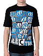 Electric Crooked Black T-Shirt