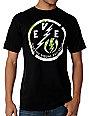 Electric Locked Black T-Shirt