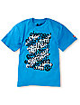 Element Boys Scaffold Cyan T-Shirt