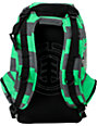 Element Gamine Green & Grey Stripe Backpack
