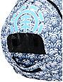 Element Gamine Teal Stripe Backpack
