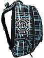 Element Girls Gamine Black Plaid Backpack