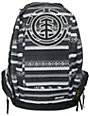 Element Girls Gamine Metric Black & White Backpack