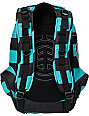 Element Girls Gamine Teal Stripe Backpack
