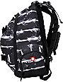 Element Old Smokey Black & White Skate Backpack