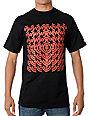 Element Overlap Black T-Shirt