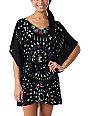 Element Sunrise Woven Black Dress