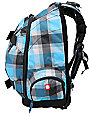 Element Woodranch Blue Plaid Skate Skate Backpack