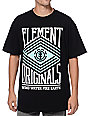 Element Zig Zag Black & Mint T-Shirt