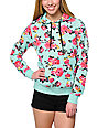 Element x Jac Vanek Heart To Heart Floral Print Pullover Hoodie