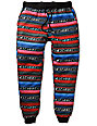 Elwood Native Tribal Stripe Skinny Jogger Pants