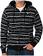 Emerica Dot Stripe Black Sherpa Hoodie