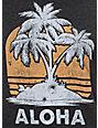 Empyre Aloha Crew Neck Black T-Shirt