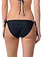 Empyre Annex Black Polka Dot Side Tie Bikini Bottom