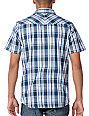 Empyre Apex Blue Plaid Woven Shirt