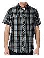 Empyre Blackjack Black & Grey Woven Shirt