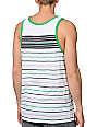 Empyre Blunder White Stripe Tank Top