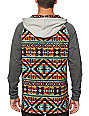 Empyre Burner Tribal Hooded Henley Shirt